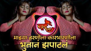 Mazya Harnila Karbharnila Bhutan Zapatal DJ Song   माझ्या हरणीला कारभारणीला भूतान झपाटलं  