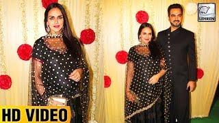 Pregnant esha deol looks adorable at ekta kapoor's diwali party   lehrentv
