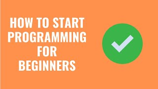 How To Start Programming