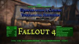 Fallout 4 Приключение в Салеме Винтовка Реба II