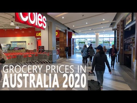 HOW MUCH DO GROCERIES COST IN SYDNEY I AUSTRALIA