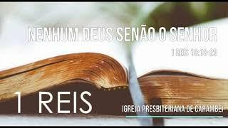 NENHUM DEUS SENÃO O SENHOR