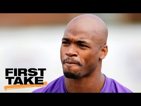 Adrian Peterson Plans To Sign Two-Year Deal With Saints | First Take | April 25, 2017
