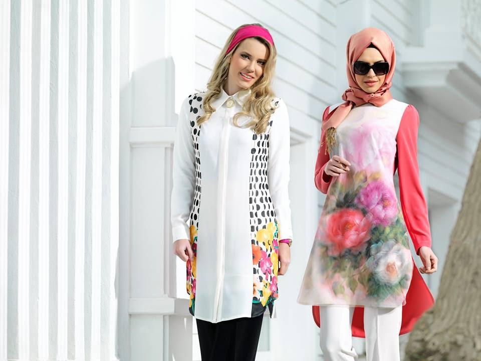 f5befb21f6d06 Puane 2015 İlkbahar Yaz Koleksiyonu Kapalı Giyimi Tesettür Kıyafetler -  YouTube