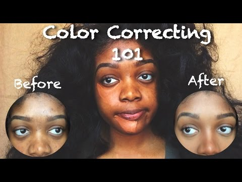 La Colors Makeup Tutorial Pretty Color Corrector For Dark Skin Of