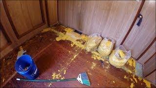 видео Демонтаж покрытия пола