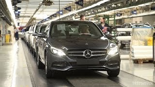 Watch the new Mercedes C-Class being produced at the Bremen Plant. ...