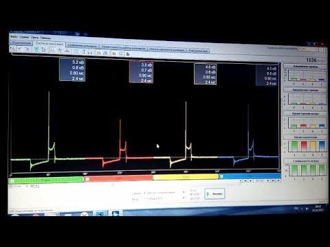 Проверка Системы Зажигания ВАЗа ДИАМАГ 2. Проверка свечей,Высоковольтных Проводов и Модуля Зажигания
