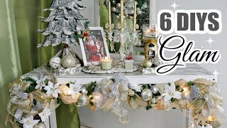 🎄6 DIY DOLLAR TREE CHRISTMAS DECOR CRAFTS 2019🎄GLAM GARLAND