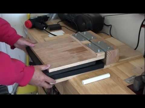 DIY Kydex Press - Holster or Knife Sheaths- kenpoist7.mp4