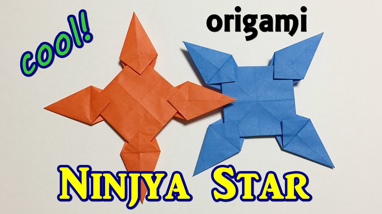 How To Make a Paper Transforming Ninja Star - Origami - YouTube | 720x1280