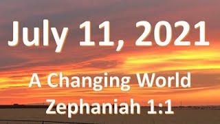 7/11/21 Zephaniah 1:1