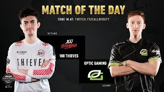 100 Thieves vs Optic Gaming | CWL Pro League 2019 | Cross-Division | Week 6 | Day 4