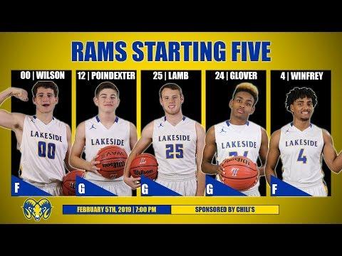 Lakeside Rams Basketball vs Benton   February 5th, 2019