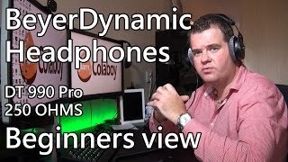 BeyerDynamic DT 990 PRO beginners review
