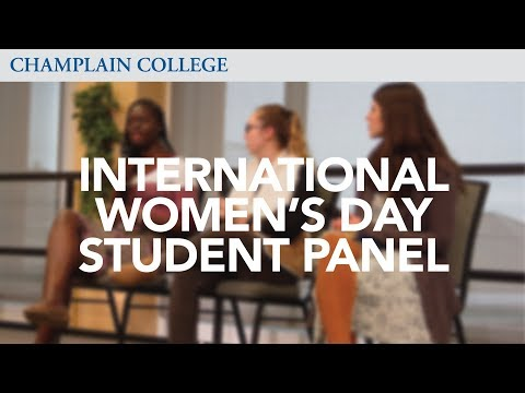 International Women's Day Student Panel | Champlain College