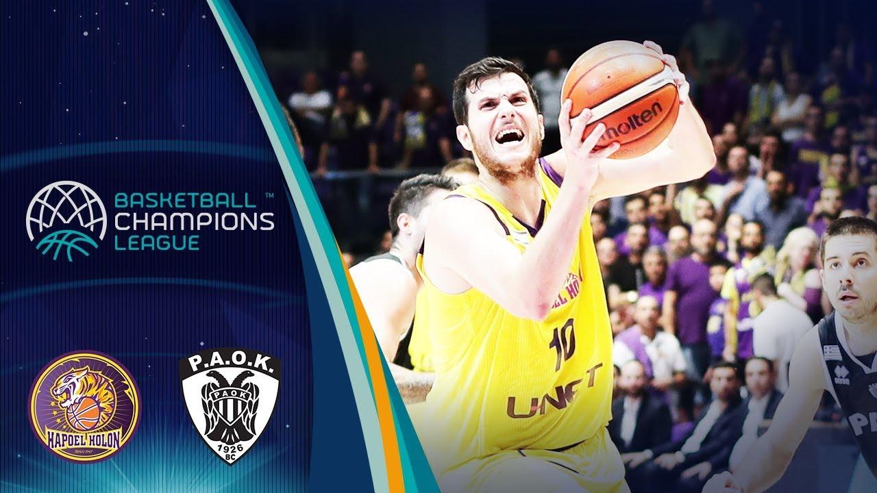 fe66a00fdc7 UNET Holon v PAOK boxscore - Basketball Champions League 2018-19 ...