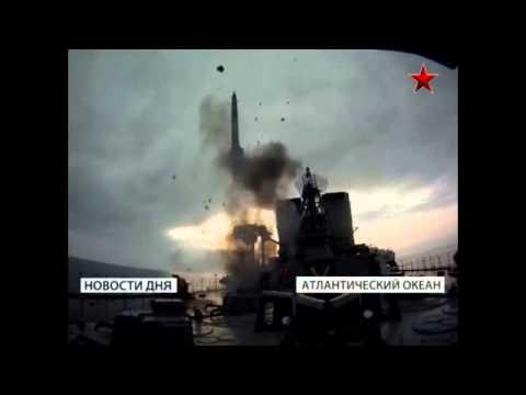 video-tàu chiến Nga mưa tên lửa