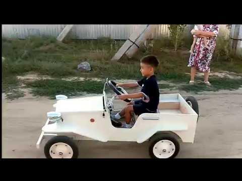 Детский электромобиль своими 13