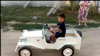 видео Автомобиль Для Ребенка Своими Руками