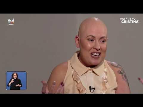 Cristina emociona-se ao falar do estado de saúde de Rebeca - Você na TV