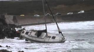 Ouessant /Sauvetage voilier