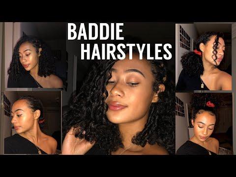 4 CURLY HAIRSTYLES FOR DAMAGED HAIR thumbnail