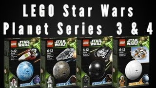 LEGO Star Wars Planet Series 3 & 4 Images