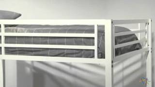 Duro Hanley Full Over Full Bunk Bed - Product Review Video