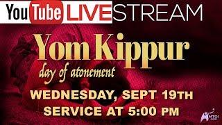 Yom Kippur Live 9-19-2018
