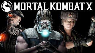 Mortal Kombat X -  Kold War. Обзор Новых Скинов!