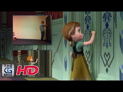 "CGI Animation Breakdowns : Walt Disney""s ""Frozen"" Shot progression - by Bobby Pontillas"