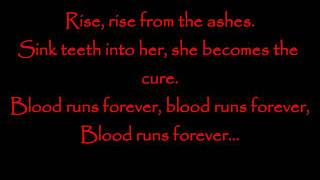 Scary Kids Scaring Kids- Blood Runs Forever Lyrics