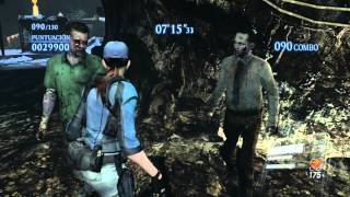 Resident Evil 6 PC Mercenaries Jill BSAA Mining The Depths 1215K