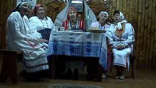 Обряд сватовства мокшан в былые времена в с. Пронькино Бугурусланского района