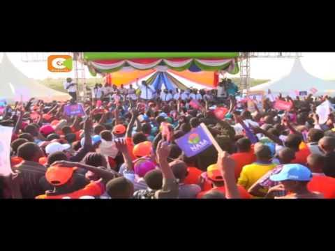 Odinga, Musyoka campaign in Kitui