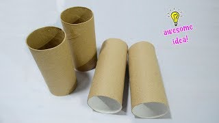 easy way to reuse/recycle empty tissue roll| best out of waste