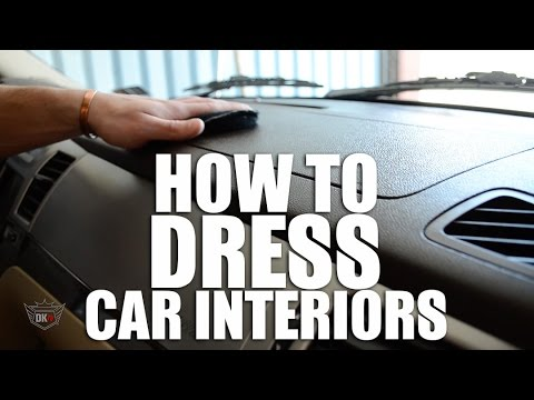 how to dress your car interior youtube. Black Bedroom Furniture Sets. Home Design Ideas