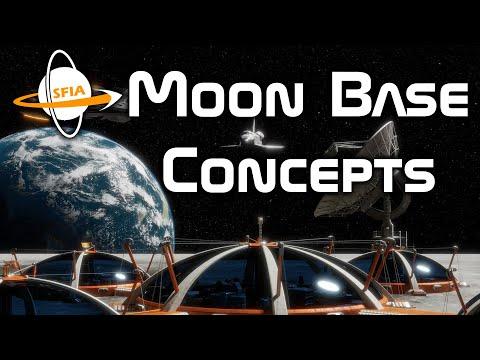 Moon Base Concepts
