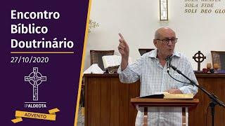 Encontro Bíblico Doutrinário (01/12/2020) - Rev. Edenildo Fonteles - Apocalipse 21