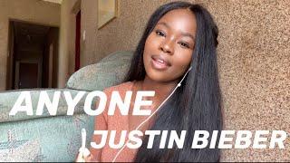 Anyone - Justin Bieber Cover   Philile Maseko   South African YouTuber