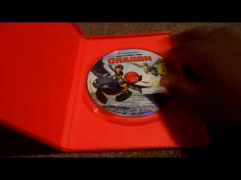 How To Train Your Dragon And Uk Dvd Unboxing
