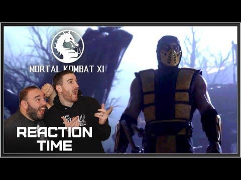 Mortal Kombat 11 Announcement Trailer - Reaction Time!