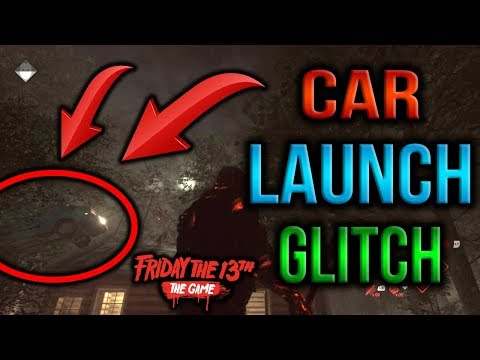 Friday The 13th: The Game - NEW Car Launch Glitch!