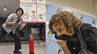 Simulador de TEMBLORES e INCENDIOS en Japón