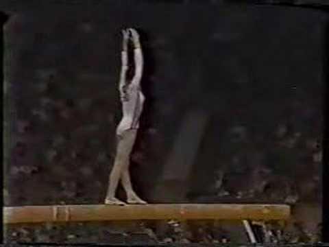 Nadia Comaneci - 1980 Olympics EF - Balance Beam