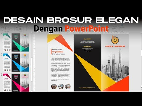 Cara Membuat Desain Brosur Keren dan Simple dengan PowerPoint