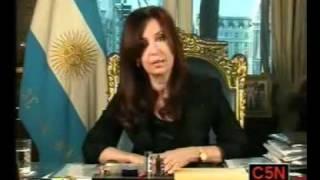 Cristina Fernandez Hablo En Cadena Nacional Luego De La Muerte De Nestor Kirchner