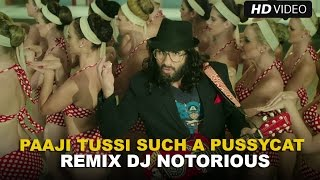 Paaji Tussi Such A Pussycat (Official Remix by DJ Notorious) | Happy Ending | Saif Ali Khan
