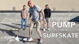 How To Pump On A Surfskate The Ultimate Guide In A Live Class